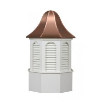 The Pinnacle Louvered Cupola Poly