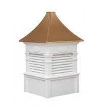 The Rockford Louvered Cupola (free shipping!)
