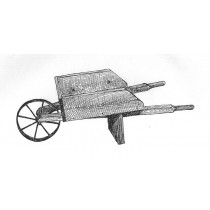 Small Wooden Wheelbarrow Plans & Hardware