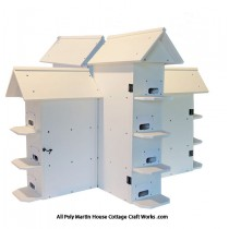 Poly T-14 Purple Martin House Assembled