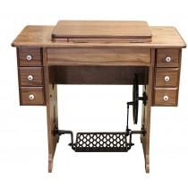 Amish Furniture-Treadle Sewing Machine Cabinet