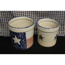 USA Stoneware ¾ & 1 Gallon Jar Crocks