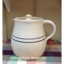 USA Stoneware Beverage, Milk Pitcher