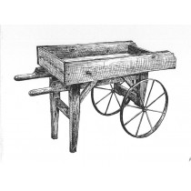 Wooden Vendor Cart Plans & Hardware Eight Spoke Wheels