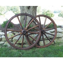 Medium Wood Spoke Wagon Wheels 24-28 Inch