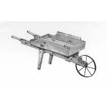Large Wooden Wheelbarrow Plans & Hardware