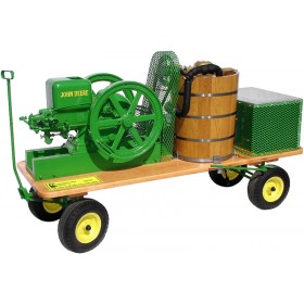 Wagon Mounted Ice Cream Freezer With Compressor