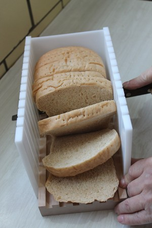 Bread Slicing Box | Slicing Homemade Bread