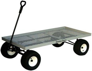 Nursery Wagon Model 580 | Flat Metal Mesh Wagon