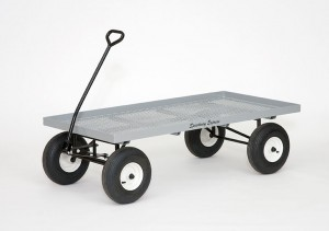 Nursery Wagon Model 680 | Flat Metal Mesh Wagon