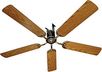 Air Powered Ceiling Fans