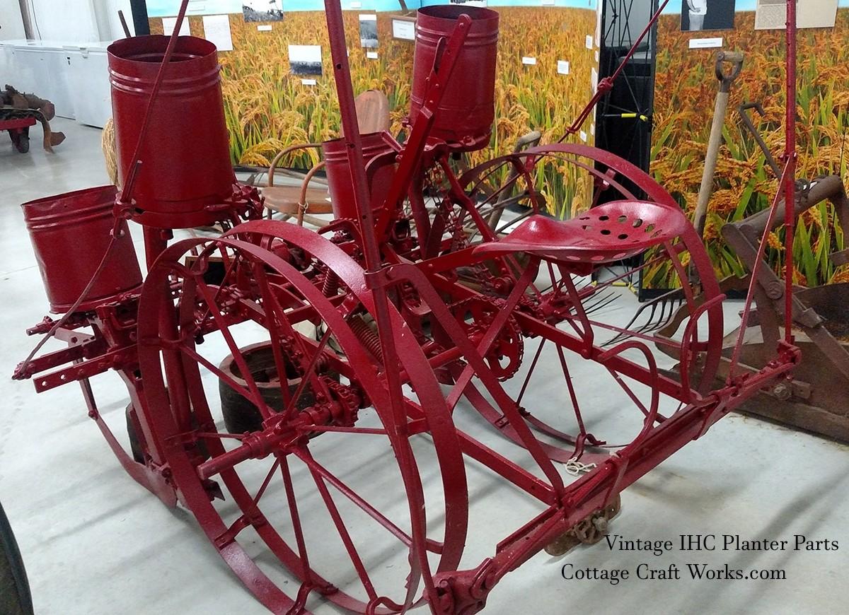 IHC Corn Planter Parts