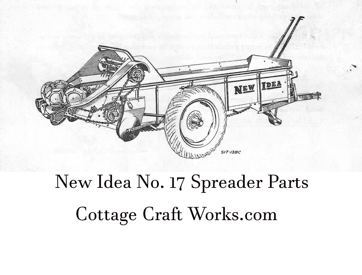 New Idea 17 Spreader Parts