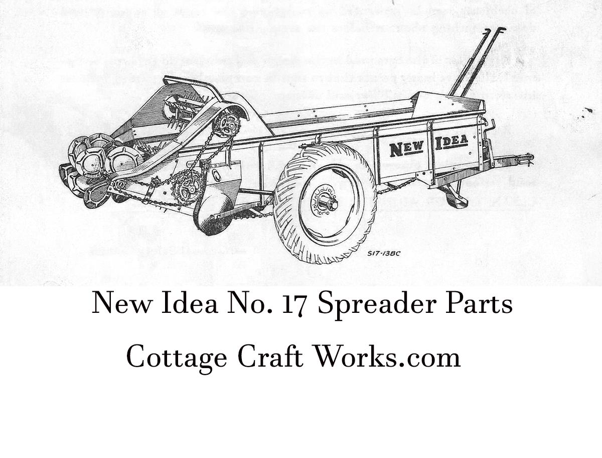 New Idea 17 Spreader Parts