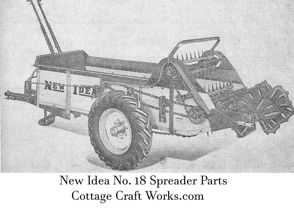 New Idea 18 Spreader Parts