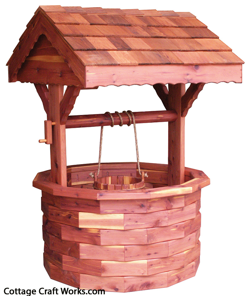Wishing Well Outdoor Decor