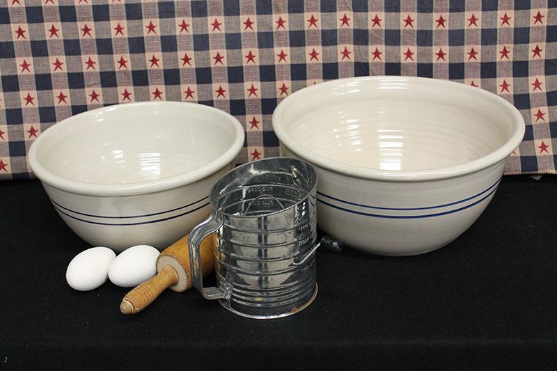 USA Stoneware Mixing Bowls