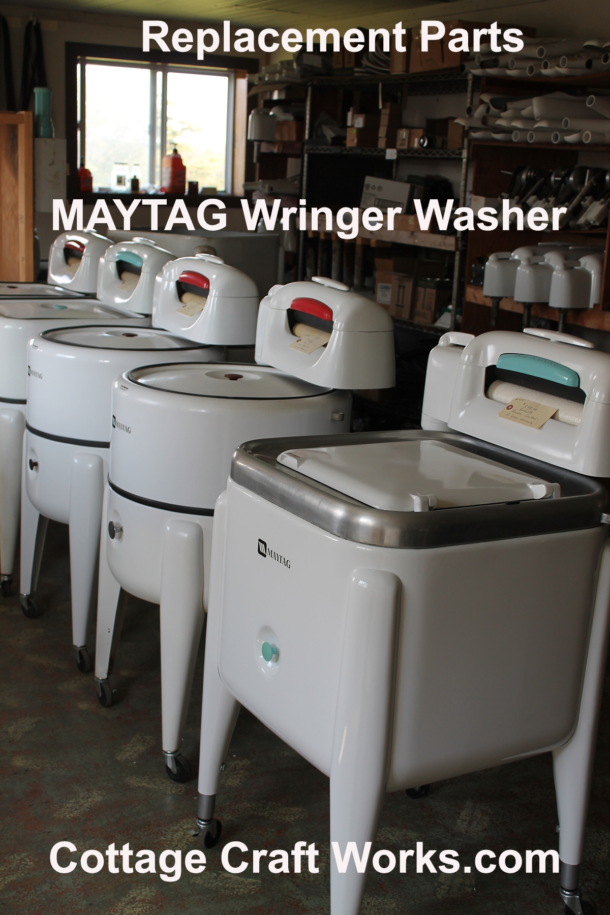 Maytag Wringer Washer Parts