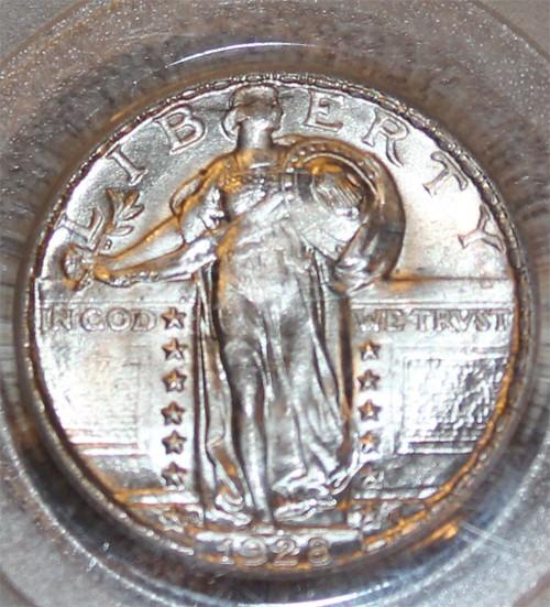 Silver US quarter dollars