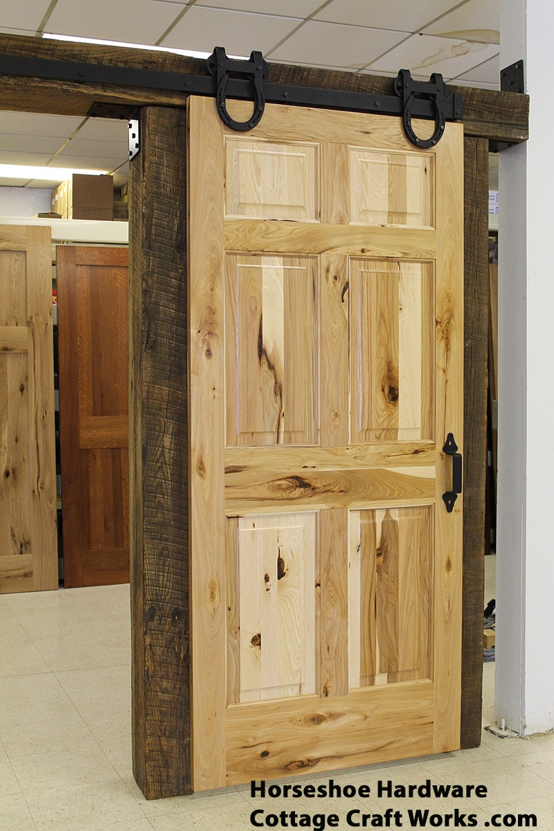 USA sliding barn door hardware, for up to 6\' openings