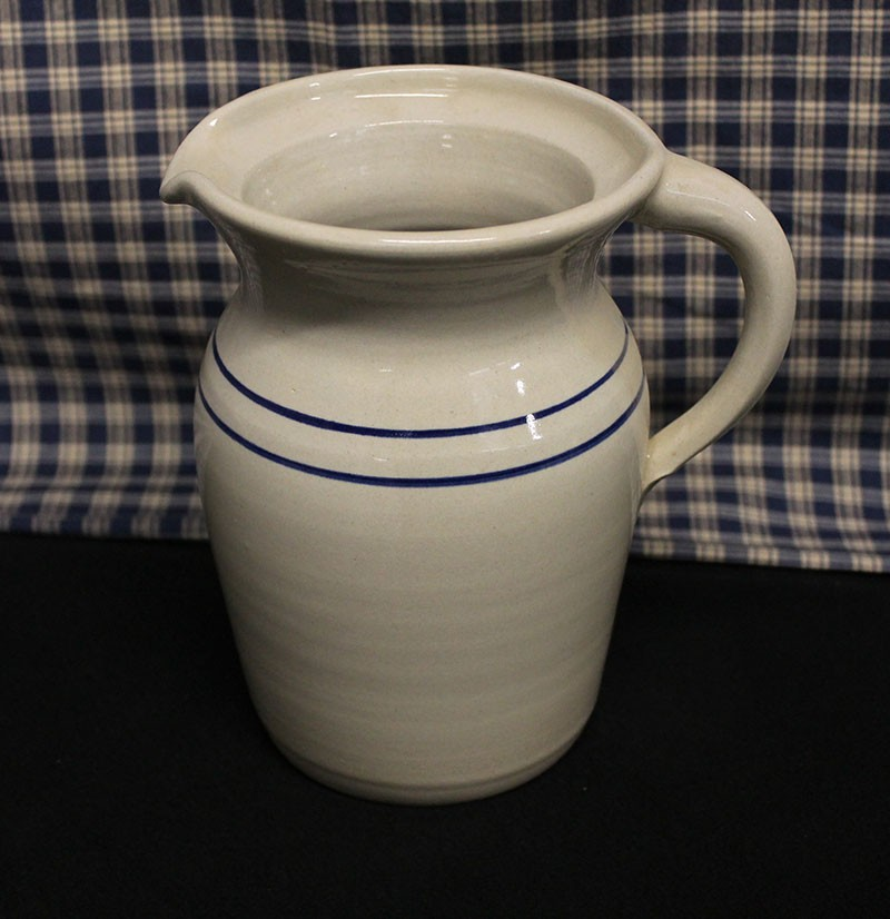 Stoneware Pitchers Straight Side Belly And Dutch Styles