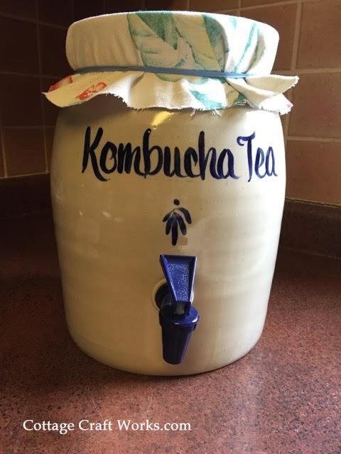 Usa Made Kombucha Tea Fermentation Crock