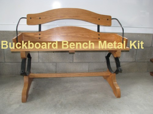 Our Buckboard Bench Table Set Plans With Hardware Kit