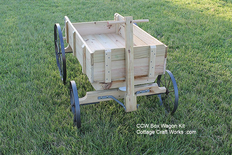 Use These Plans And Wheels To Build An Old Time Express Wagon
