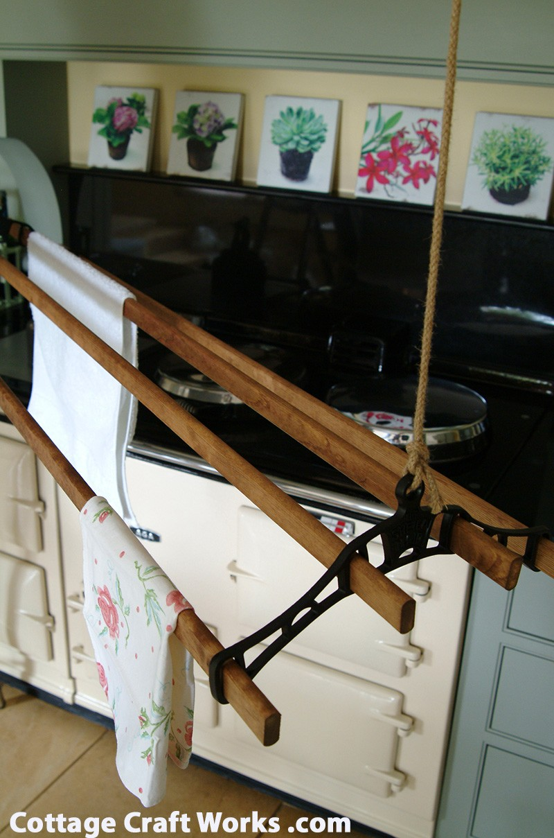 Vintage Suspended Ceiling Clothes Drying Rack Sheila Maid Dryer