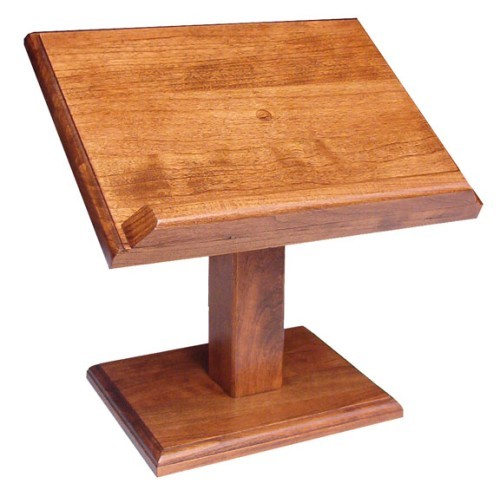 Wooden Bible Stand ~ Amish small wooden elevated cookbook book or bible stand