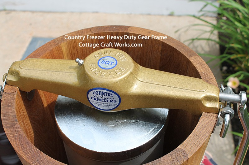 Country Freezer Usa Ice Cream Makers Hand Crank Electric
