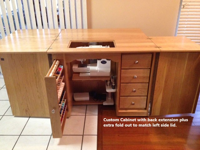 Amish Furniture Clic Sewing Machine Cabinet