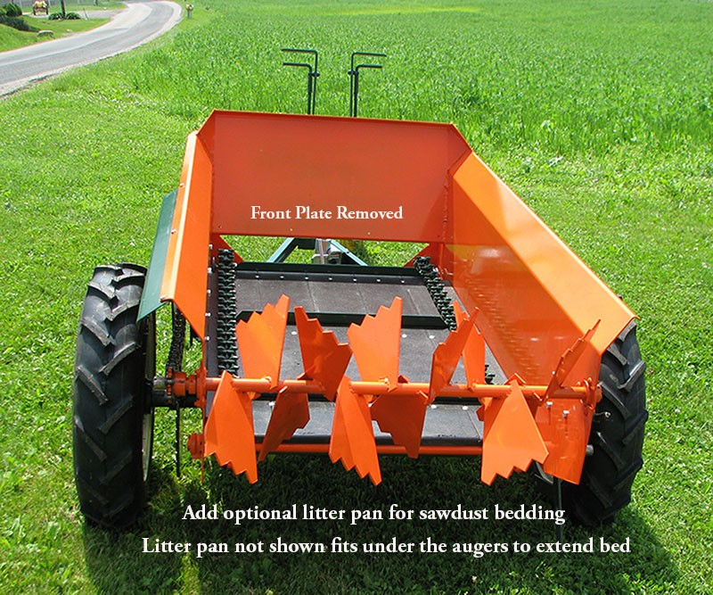 Compact Manure Spreaders 25-30 Bu