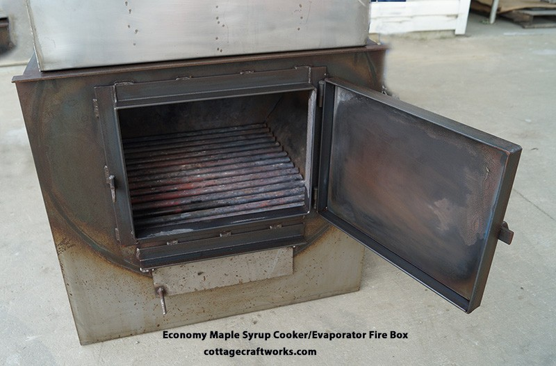 Hobby wood fired basic maple syrup cooker, evaporator