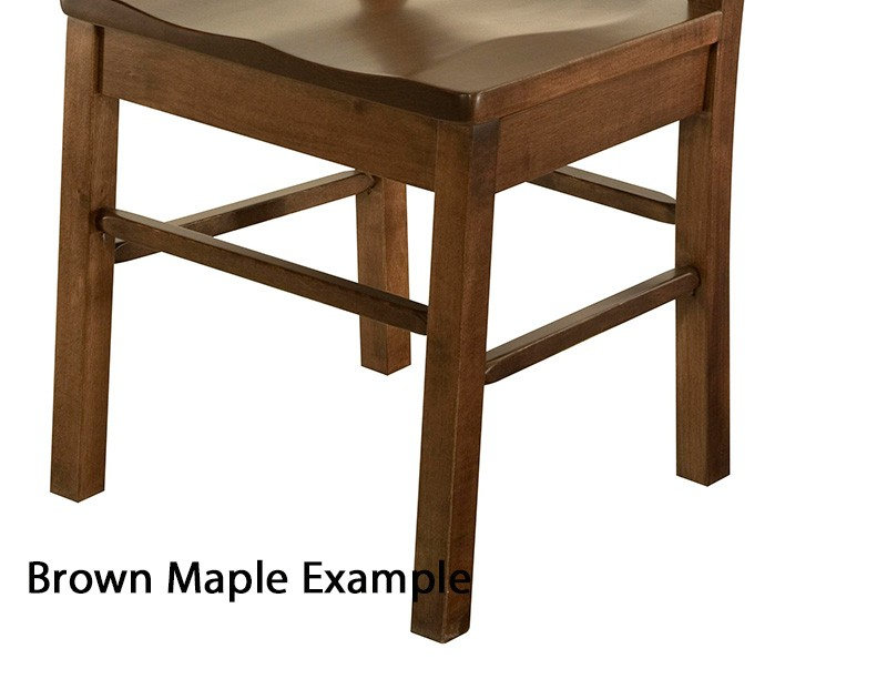 Vintage Usa Reproduction Wooden Folding Step Stool
