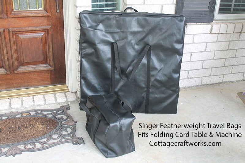 Singer Featherweight Folding Card Table Travel Bag