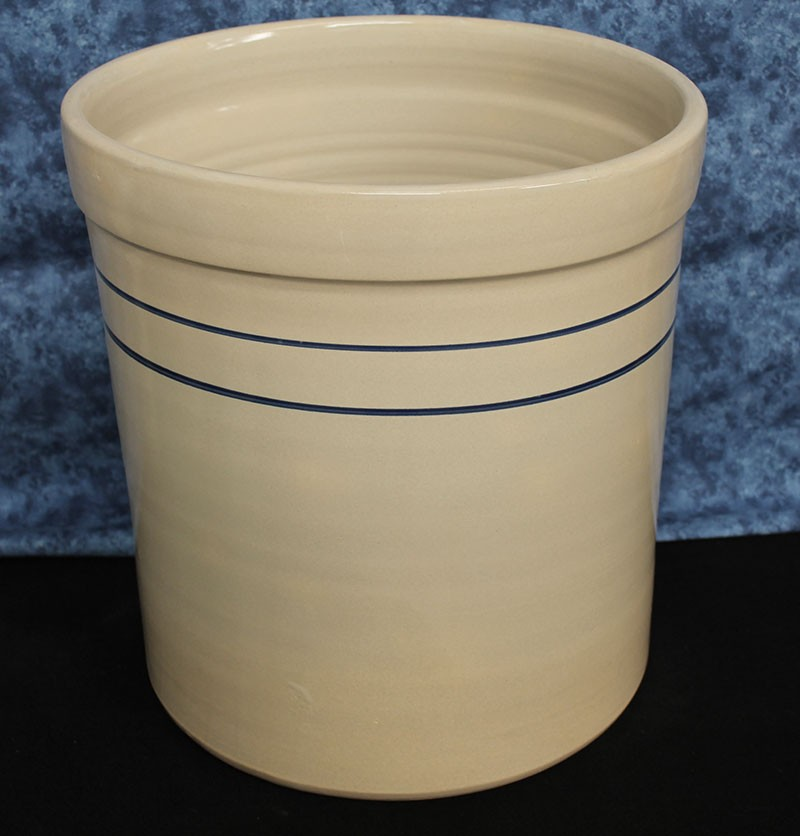 Old Fashioned Usa Stoneware Lead Fee 4 5 Gallon Crock