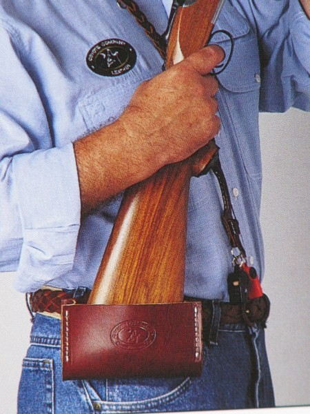 Gun Stock Belt Caddy Hip Gun Rest Provides Less Fatigue