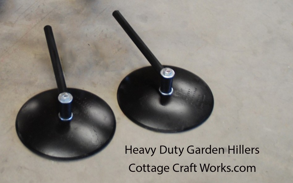 Heavy Duty 16 Inch Garden Row Disc Hillers Hippers