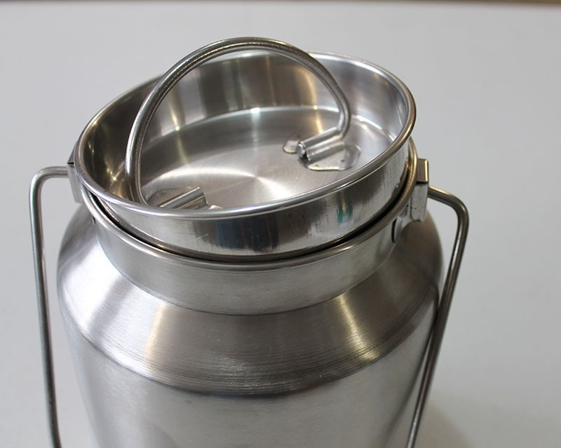 Sustainable Living One Gallon Stainless Steel Milk Jug