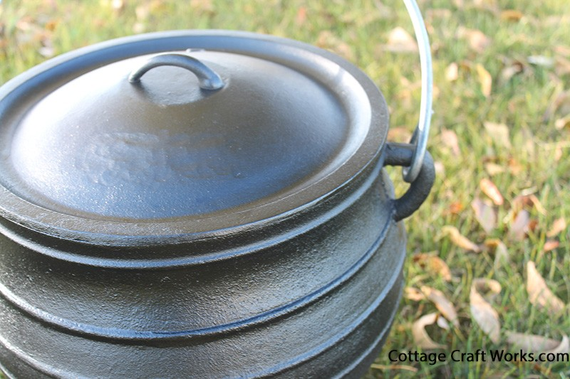 Cast Iron Pot 7 25 Gal Cooking Kettle Potjie 10