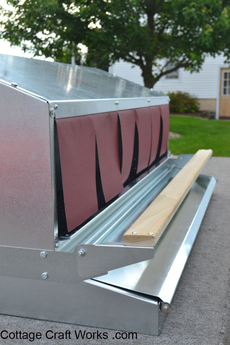 Rollaway Egg Nest Box 48 Inch Community Front Amp Rear Trays