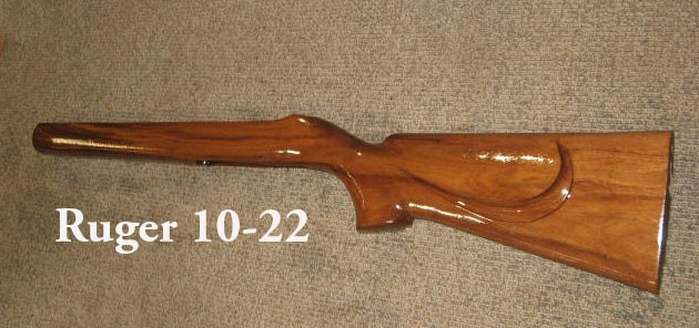 Replacement Stock For Ruger 10 20 Standard Or Sporter Rifle