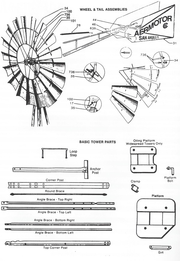 aermotor usa made windmills - windmills