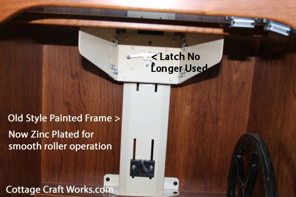 Sewing Cabinet Machine Air Lift Mechanism