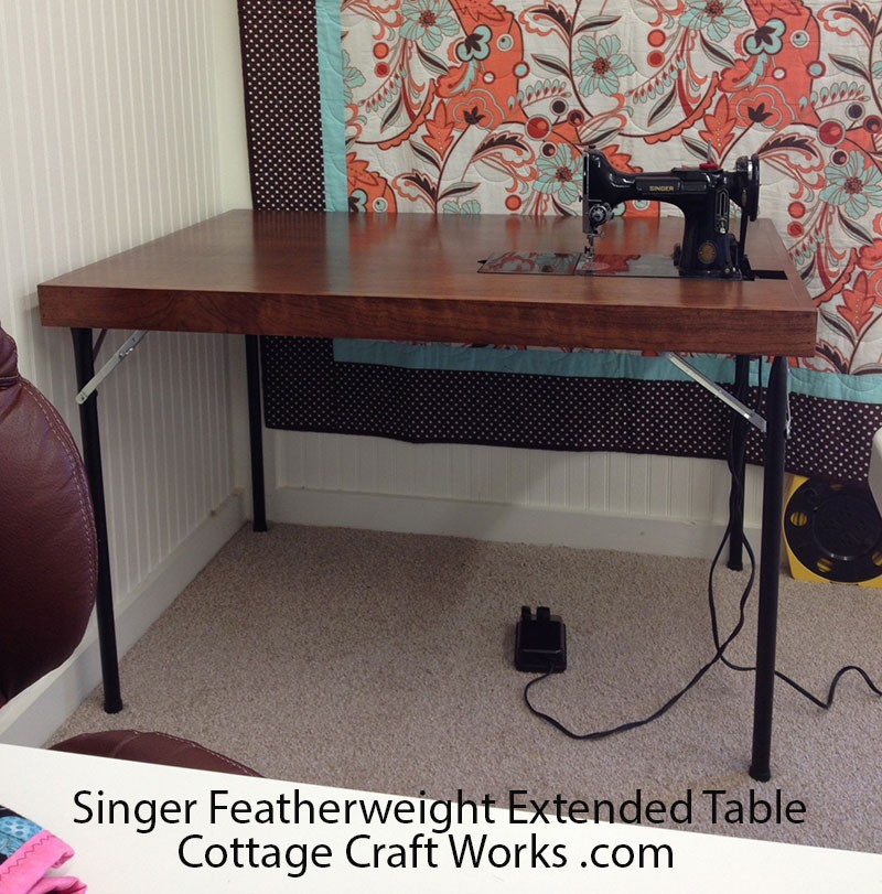 Singer Featherweight 42 Quot Card Table Fits Singer 221 301