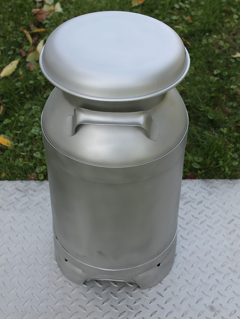 Made In The Usa Stainless 5 Gallon Drain Spout Milk Can