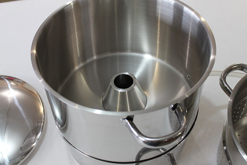 Back To Basics Old Fashioned Stainless Steamer Cooker Juicer