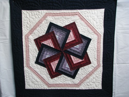 Star Spin Pattern Amish Hand Stitched Custom Quilt