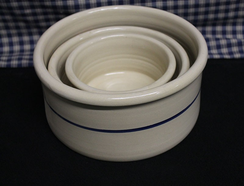 Usa Made Pottery Stoneware Pet Bowls